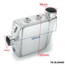 """Aluminum Water-to-Air Liquid Intercooler Core: 250X220X115mm Inlet/Outlet:3.5"""""""