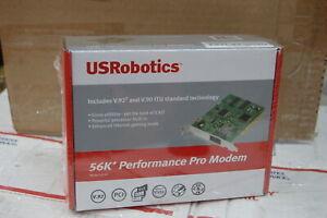 US Robotics USR5610C 56K Performance Pro Modem PCI - 56Kbps New sealed box