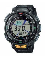 CASIO Pro Trek Mens Solar Powered Multi functional Watch 100 M PRG-240-1ER