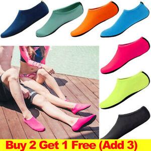 1PC Adults Kids Water Shoes Aqua Socks Slip On Surf Pool Beach Swim Diving Socks