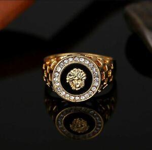 Herren Goldring | Löwe | Medusa | Ring Gold / Silber | Damen | Herrenring