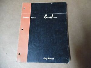 CUMMINS Diesel C and J Series Diesel Engines SHOP Service Manual (1965)