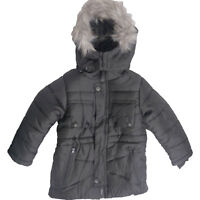 Children Boys Fur Collar Jacket Hooded Winter Jacket Outerwear Coat