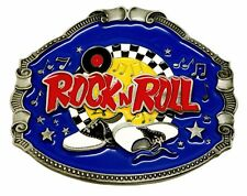 Americana Belt Buckle Music Themed Rock n Roll Dancing Shoes Authentic Product