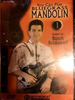 You Can Play Bluegrass Mandolin,Vol.01 - Butch Baldassari [Homespun Instruction]