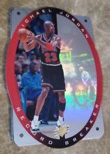🔥🔥 1996 SPx Michael Jordan card (Hologram Die Cut Record Breaker!! Bulls 🏀