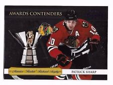 2010-11 Playoff Contenders Awards Contenders Purple Patrick Sharp #d 29/100