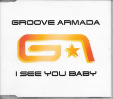 GROOVE ARMADA - I see you baby CDM 4TR House Europe 2004 (BMG)