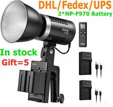 Godox ML60 60W Handheld LED Video Light CRI96+ Remote control+ 2*NP-F970 Battery