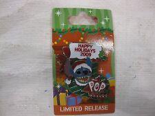 Disney Pin 3D Stitch Happy Holidays Limited Release Pop Century Resort 2009pin97