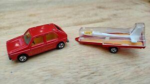 Majorette VW Golf and Glider no. 210