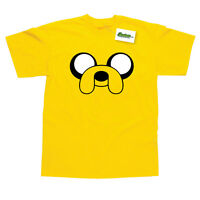 Jake Inspired by Adventure Time Printed T-Shirt