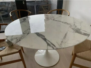 Knoll Saarinen Marble Dining Table Top - Top Only Not Including The Base