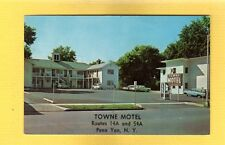 Penn Yan,NY New York, Towne Motel 24 modern units with television