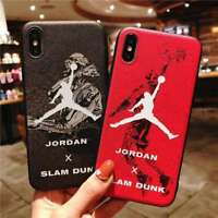 Soft 3D NBA Basketball Gift Phone Case Cover For iPhone X XS Max XR 6s 7 8 Plus