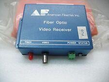 Fiber Optic Video Receiver MR-10  Mr-10SMA PUB 169193
