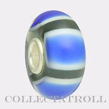 Authentic Trollbeads Blue Symmetry Bead Trollbead 61411  TGLBE-10085