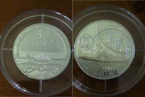 Frankreich 50 Euro 2012  La Jean d'Arc  Silber PP Nur 153 Stück!