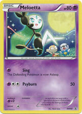 Pokemon Meloetta BW68 Black Star Promo Card (Psychic)
