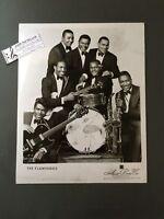 Original 1950s-60s 8 x 10 Publicity Photo Vocal Group Doo Wop R&R The Flamingos