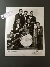 Original 1950s-60s 8 x 10 Publicity Photo Vocal Group Doo Wop R&R The Flamingos