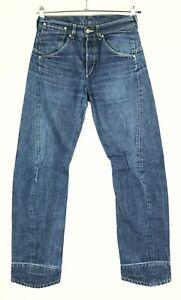"""LEVI'S 835 Engineered Rare Vintage Twisted Denim Mens Jeans 28 x 32 (Waist 15"""")"""