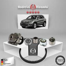 KIT DISTRIBUZIONE + POMPA ACQUA VW TIGUAN 2.0 TDI 81KW 110CV 2010 ->