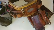 KLEIN TOOLS MODEL 5278N21 CLIMBING TOOL BELT SIZE 36-44 CHECK PHOTOS PLEASE