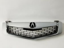 Brand New TSX 2009 2010 Front Grill Grille w/ Emblem w/ Molding 3in one PC