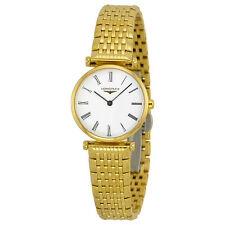 Longines 18kt Gold-tone Stainless Steel Ladies Watch L4.209.2.11.8