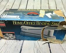 Ibico Binding System Machine Eb 19 Manual Punch Binder Plastic Or Wire Comb Box