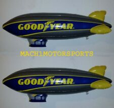 "NEW Pair of GOODYEAR Inflatable BLIMP 33"" New Style Scenery Scalextric LIONEL"