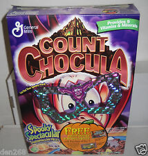 #8735 General Mills 2000 Count Chocula Halloween Cereal BOX ONLY