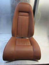 Bentley Continental GT 2007 Einzelsitz Rücksitz Sitz hinten rechts Leder Saddle
