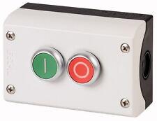 Gehäuse mit Taster, EATON Moeller 216529, EIN-AUS, P67, aP, zweifach Drucktaster