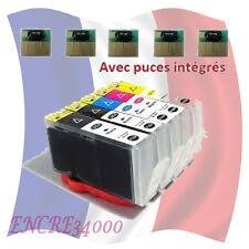 5 cartouche remanufacturées 364 XL avec NIVEAUX D'ENCRE pour HP Photosmart C6380