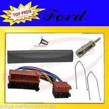FORD Fiesta Focus Escort Mondeo Radioblende + Radioadapter ISO Adapter Radio SET