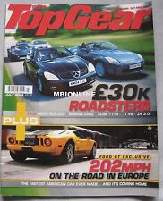 Top Gear 07/2004 featuring Mercedes, Lotus, Nissan 350Z, Ford GT, Audi, BMW