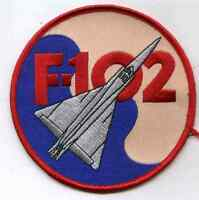 RARE USAF Convair F-102 Delta Dagger Fighter Interceptor Patch Vietnam War