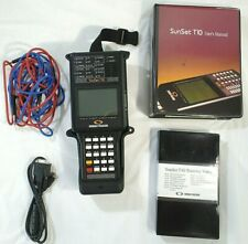 Sunrise Telecom Sunset T10 w/Carrying Case & Manual~For PARTS/ REPAIR