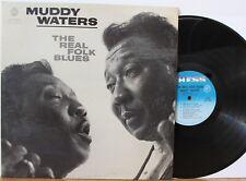 "Muddy Waters LP ""The Real Folk Blues"" ~ Chess 1501 ~ Mono"
