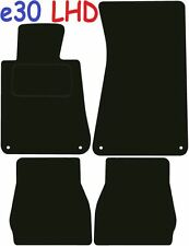 Bmw e30 Left Hand Drive 3 Series Tailored Deluxe Quality Car Mats 1984-1991 Conv