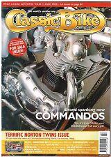 CB Apr 2002 Norton 88 De Luxe Commando Production racer Wasp OK Supreme Kreidler