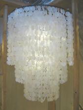 Muschellampe Muschelleuchte 80 cm breit, 100 cm hoch, echte Muscheln aus Capiz