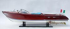 "Riva Aquarama Gorgeous  Handmade Wooden Model Speedboat 34"""