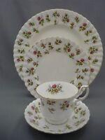 4 Piece Place Setting Royal Albert England WINSOME Bone Plates Tea Cup Saucers