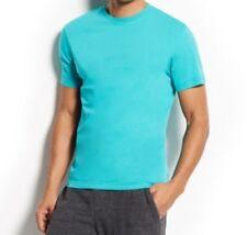 Alfani Men/'s Chambray Polo Shirt Black Short Sleeve Retail $40