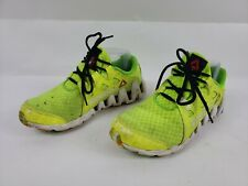 Men's Reebok Zig Tech Athletic Running Shoes Size 5 Lime Green, FREE SHIPPING