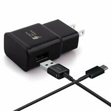 SAMSUNG FAST CHARGER+ORIGINAL TYPE C USB FOR SAMSUNG GALAXY S9, S9+ (BLACK)