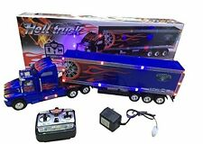 Big-Daddy Super Cool Extra Large Tractor Trailer W/Light &Music Remote control